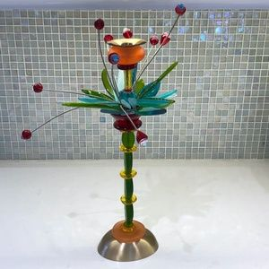 Orna Lalo Tropical Flower Candlestick